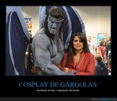 COSPLAY DE GÁRGOLAS - Humanos de día, cosplayers de noche