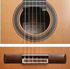 Guitar Paco Santiago Marin 50 Anniversary Roseta