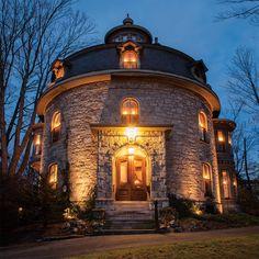 Circular Splendor - The Jonathan Bowers Round House in Lowell | Merrimack Valley Magazine