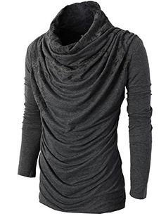H2H Mens Unique Slim fit Fashionable Designed Shirring Long Sleeve T-shirts CHARCOAL US S/Asia M (KMTTL0252) H2H http://www.amazon.com/dp/B00OPX8LMM/ref=cm_sw_r_pi_dp_UYmDvb0R07E38