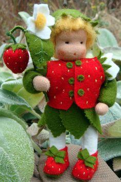 Flower child, strawberry