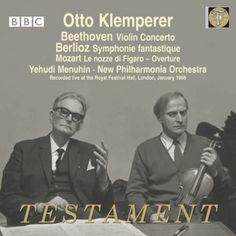 Berlioz Symphonie Fantastique, Beethoven Violin Concerto, Mozart : Klemperer / New Philharmonia, Menuhin(Vn)(1966)(2CD)