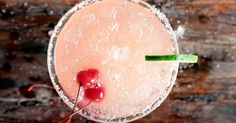 Cherry beer margarita video - Everyday Dishes & DIY