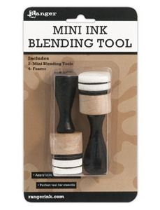 Ranger MINI ROUND INK BLENDING TOOLS IBT40965 - You can probably find these at Marco's or even Michael's
