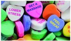 Get a massage for valentines