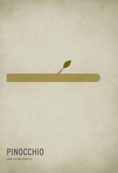 Pinocchio - Minimalist Poster
