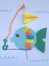maestra Nella: pesciolini di benvenuto