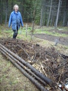 {Hugelkultur – Using waste wood to build a raised bed garden}