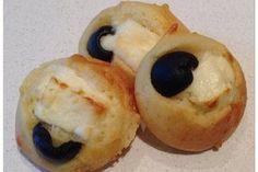 Bouchées féta - olive noire