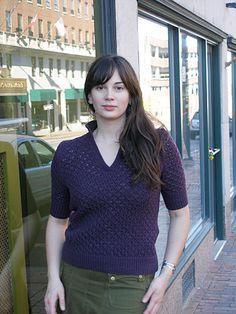 Modern Lace Henley - Winter 2007 - Knitty