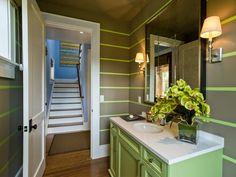 Tropical Bathrooms from Linda Woodrum on HGTV