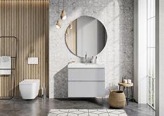 Meble łazienkowe/ bathroom furniture Look Collection Mirror, Bathroom, Furniture, Design, Home Decor, Washroom, Decoration Home, Room Decor, Mirrors