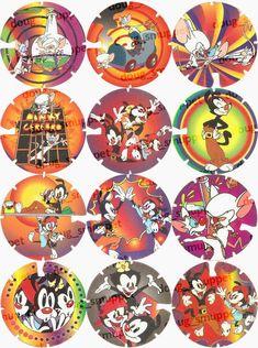 Mega Tazo Arma e Voa - Animaniacs Elma Chips, Tazo, Perfect Hair Color, Old Toys, Retro, Childhood Memories, Dragon Ball, Nostalgia, Old Things