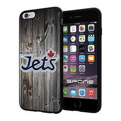 Winnipeg Jets 3 Black Wood NHL Logo WADE4756 iPhone 6+ 5.5 inch Case Protection Black Rubber Cover Protector WADE CASE http://www.amazon.com/dp/B013NWF7JK/ref=cm_sw_r_pi_dp_enACwb039Q829