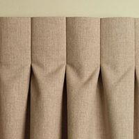 Designer Tip: Inverted Box Pleat Drapery