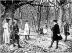 Pictured is The Burr–Hamilton duel between 2 prominent American politicians – Aaron Burr, the sitting Vice President of the United States & Alexander Hamilton, the former Secretary of the Treasury at Weehawken, NJ on July 11, 1804. The duel was the culmination of a long bitter rivalry between the men. Tensions reached a boiling point with Hamilton's journalistic defamation of Burr's character during the 1804 NY gubernatorial race. Burr shot & mortally wounded Hamilton who died the following…