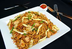 Confessions Of A Foodaholic: Mauritian Fried Noodles (Mine Frite Special)