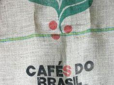 Sacs à café en toile de jute Café do Brasil • Hellocoton.fr