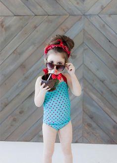 RedDollyGirls is raising the bar for kids' beach style. #etsy