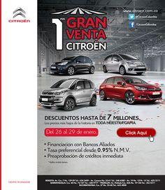 Primera gran venta: Campaña realizada para Citroen