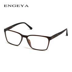 ENGEYA TR90 Clear Fashion Glasses Frame Men Optical Myopia Brand Designer Transparent Glasses Frames 3 Bright Colors  #IP2021#