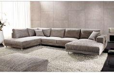 großzügige Wohnlandschaft Modesto Base | Dieses Sofa mit erstklassigem Sitzkomfort sowie harmonisch gewählten Proportionen begeistert und schafft trotz seiner Größe eine wohnliche Atmosphäre. #Sofa #MoebelLETZ