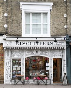 Biscuiteers shop, Notting Hill, London