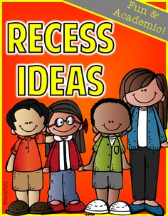 Recess Ideas: Fun and Academic - Tuesday Teacher Idea - make a menu of options now of what you can do with your class on inside recess days. This post has some suggestions. Add your menu to your emergency sub plans.