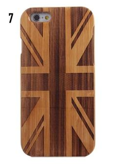 Natural Bamboo Wood Phone Case Cover For iPhone 6 6s 6plus 7 7 plus