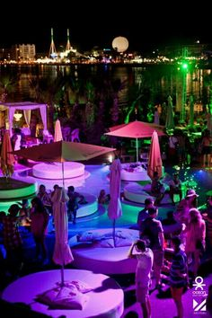 San Antonio, Ibiza, Spain.... Experience the beach parties and nightlife in Ibiza... Be careful with your spending habits...