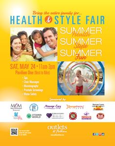 May 24, 2014 is going to be a fun day at Outlets at Anthem for the entire family. Free activities along with health screenings available for both men and women. Enjoy chair massages and the spa in SpaFly's portable unit. http://www.outletsanthem.com/events