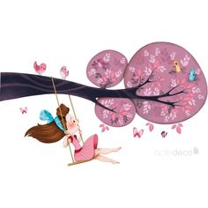 By Emmanuelle Colin (France) Art And Illustration, Illustration Mignonne, Painting For Kids, Art For Kids, Art Mignon, Cute Cartoon, Cute Drawings, Cute Art, Decoupage