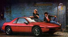 1985 Pontiac Fiero Ad