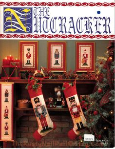 The Nutcracker - by Just Cross Stitch & This and That Christmas Sampler by Julia Thorp, Christmas Cross Stitch Patterns, Santa Nutcracker