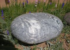 Pebble Seat, Green Marble