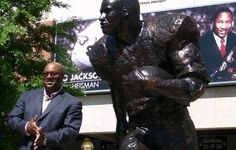 #34 Bo Jackson of the Auburn Tigers - Simply the Best