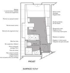plan appartement 10m2