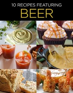 10 Recipes Featuring Beer