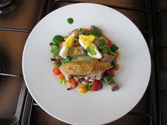 Salade de Veau avec petits legumes ,sauce de roquette  Gino D'Aquino