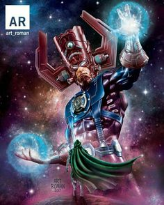 Doctor Doom vs Galactus