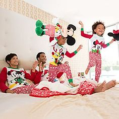 disney mickey mouse and friends holiday family pajama set collection disney store family pajama sets