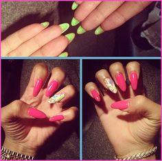 Zendaya Coleman Shows Off Her New Nails November 4, 2012