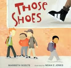 I love this book! Empathy = putting yourself in Those Shoes!