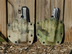 Multicam and ATACS Kydex holsters