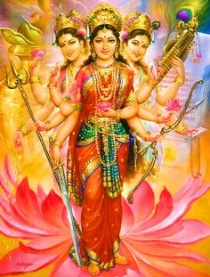 Arrival of Divine Mother Shakti