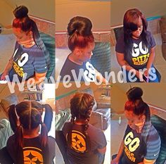The vixen sew in weave is very versatile ! A sew in should be nothing more than versatile