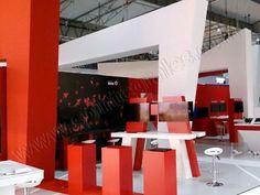 Stand Vodafone Mobile World Congress de Barcelona |