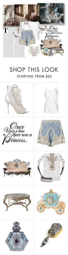 """""""Airy & Elegant Outfit"""" by johannamaria37 ❤ liked on Polyvore featuring Sophia Webster, Gold Hawk, Once Upon a Time, Jonathan Simkhai, Dolce&Gabbana, Chanel, CO, lace and CamiTop"""