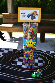 Super Mario Brothers / Mario Kart Wii Birthday Party Ideas | Photo 7 of 52 | Catch My Party