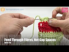Left Hand: Learn How To Change Color using Darning Needle